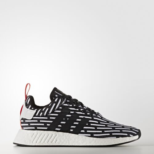 adidas - NMD_R2 Primeknit Shoes Core Black/Footwear White BB2951