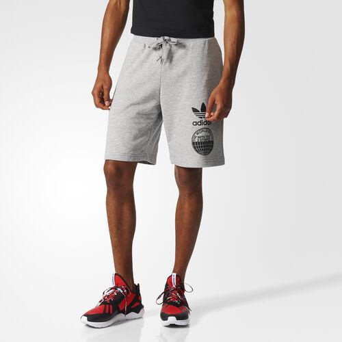 adidas - Street Graphic Shorts Medium Grey Heather BP8941