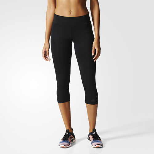 adidas - Workout Three-Quarter Tight Black AI3740