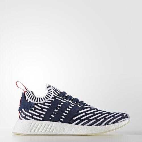 adidas - NMD_R2 Primeknit Schoenen Collegiate Navy/Collegiate Green/Footwear White BB2909