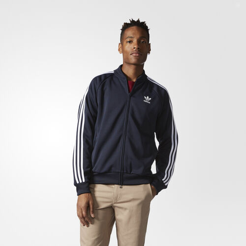 adidas - SST Relaxed Track Jacket Legend Ink/White BK3611