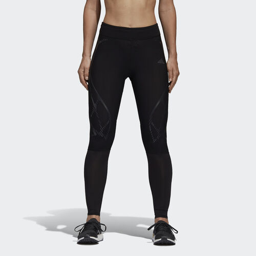adidas - adizero Sprintweb Long Tights Black BJ9234