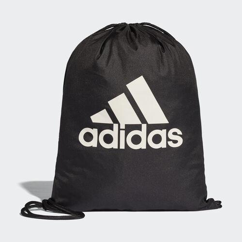 adidas - Performance Logo Gym Bag Black/Black/White BR5051