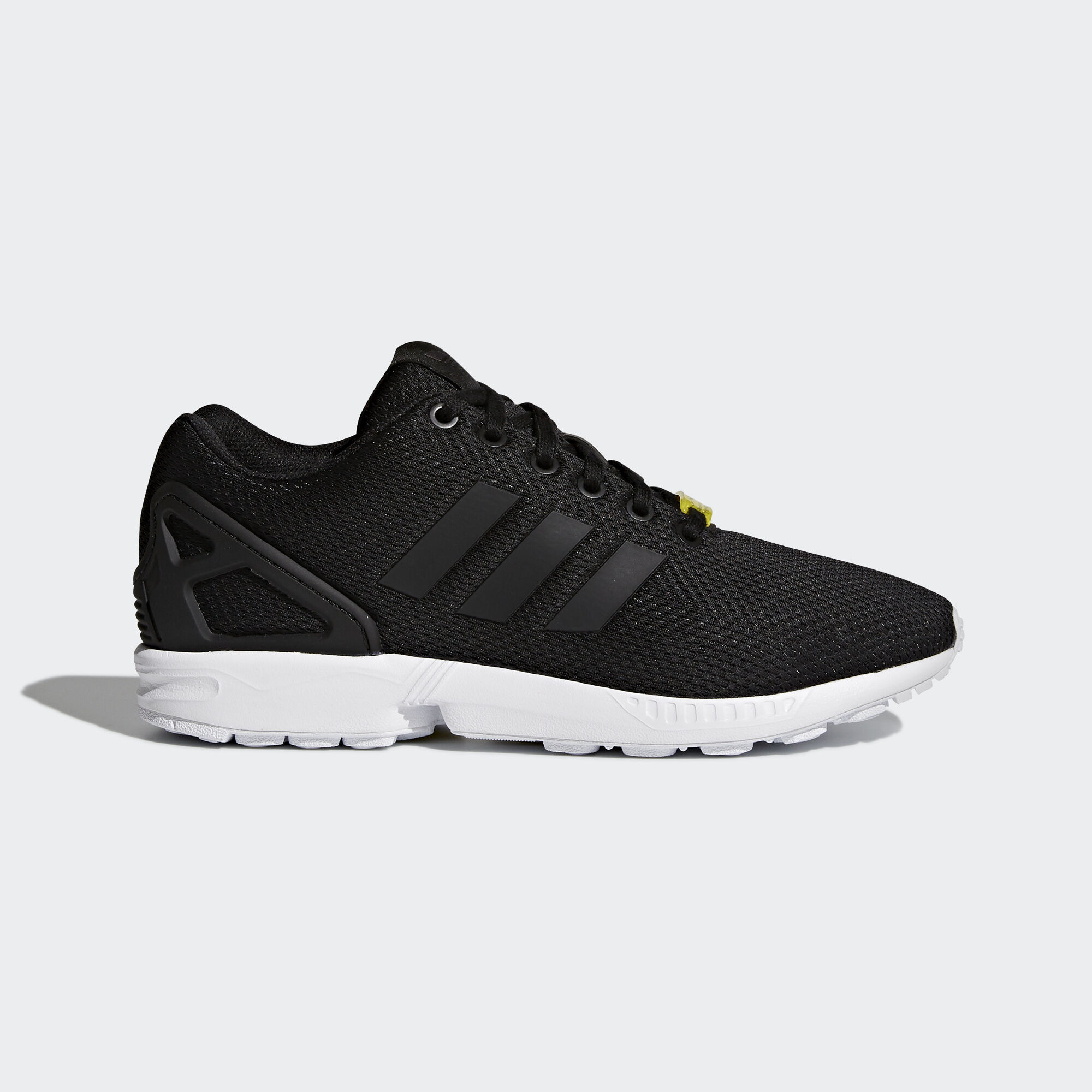 Adidas Zx Flux Black And Gold Shoes