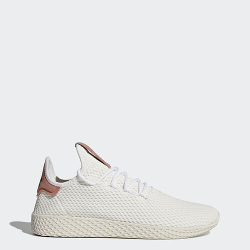 adidas - Pharrell Williams Tennis Hu Shoes Footwear White/Footwear White/Raw Pink CP9763