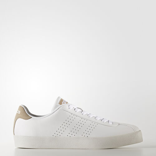 adidas - VL Court Vulc Shoes Footwear White/Trace Khaki BB9638