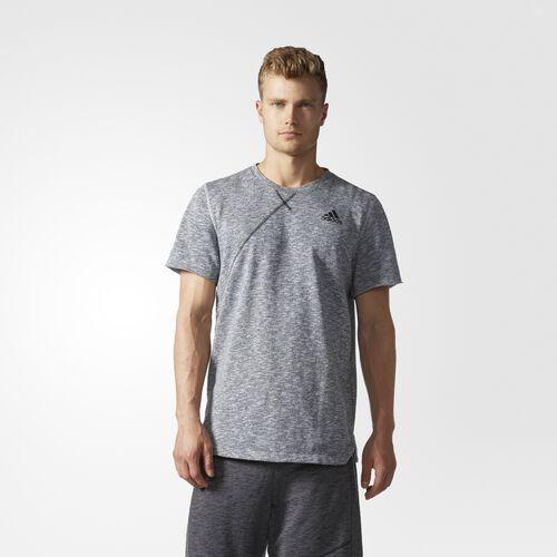 adidas - Cross-Up Tee Lgh Solid Grey AZ4327
