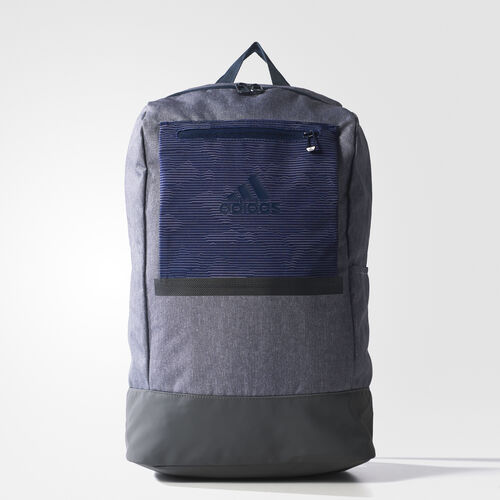 adidas - Football Icon Backpack 17.2 Grey Four /Legend Ink BS1009