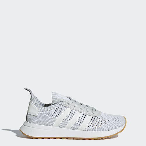 adidas - Obuv Flashback Primeknit Footwear White/Footwear White/Clear Grey BY9099