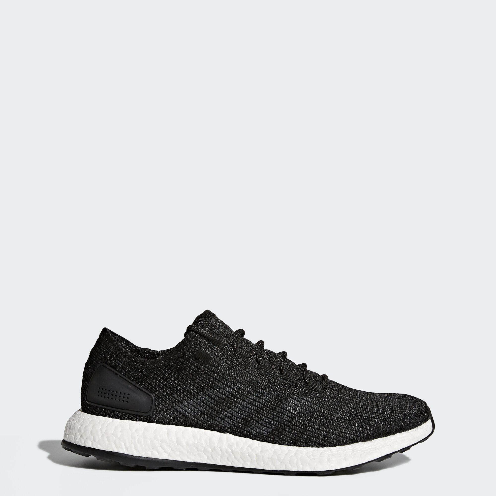 adidas - Pure Boost Shoes Core Black/Dark Grey Heather BA8899. Men Running