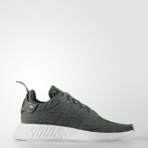 adidas - NMD_R2 Shoes Utility Ivy/Footwear White/Trace Green BA7261