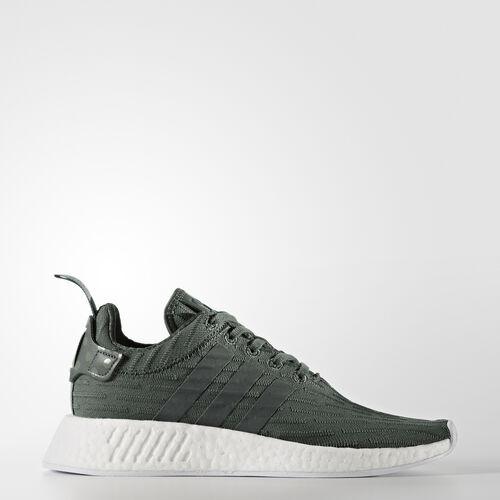 adidas - NMD_R2 Schuh Utility Ivy/Footwear White/Trace Green BA7261