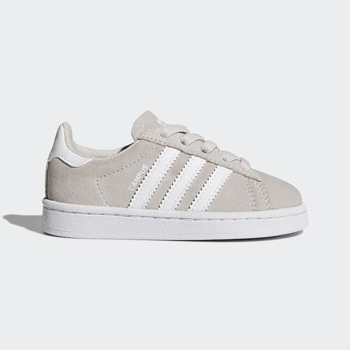 adidas - Campus Shoes Grey One /Footwear White/Footwear White BY9595