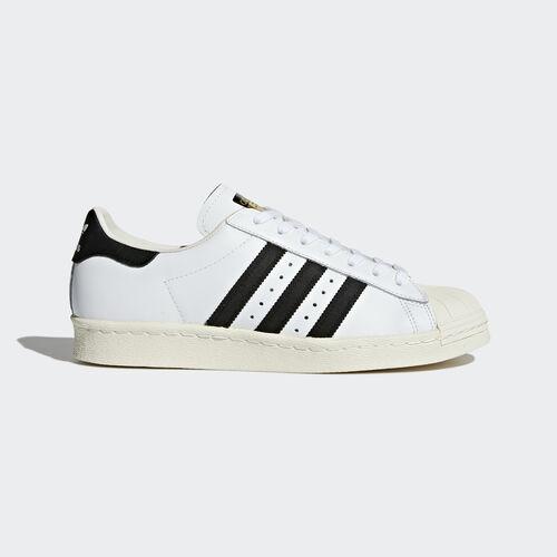 adidas - SST 80s White/Core Black/Chalk White G61070