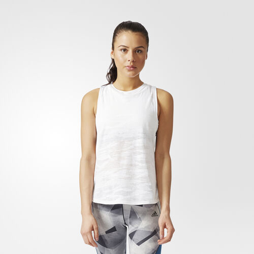 adidas - Climacool Aeroknit Deep Armhole Tanktop White BQ5895