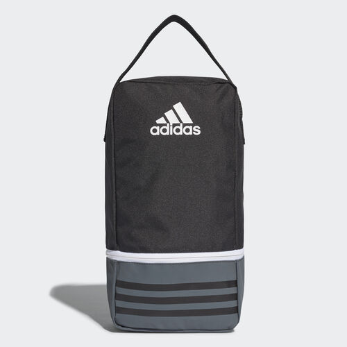 adidas - Tiro Shoe Bag Black/Dark Grey/White B46133