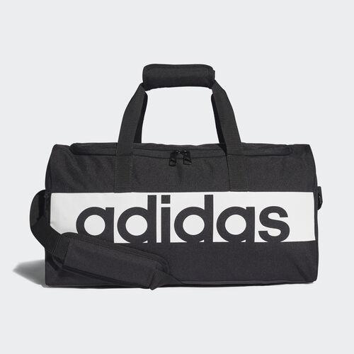 adidas - Linear Performance Duffel Bag Small Black / Black / White S99954