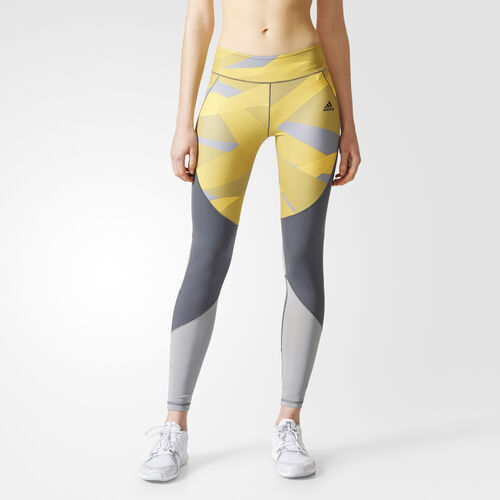 adidas - Ultimate Cut and Sew Long Tights Grey Five /Print BR6772