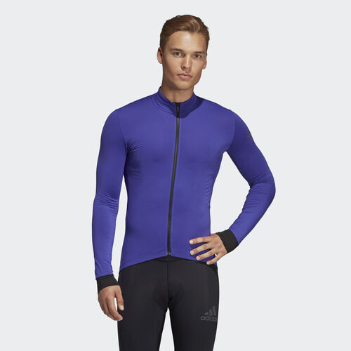 adidas - Climaheat Cycling Winter Jersey Energy Ink BR7815