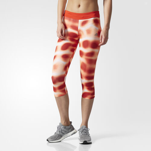 adidas - Response Three-Quarter Tights Core Red AZ7334