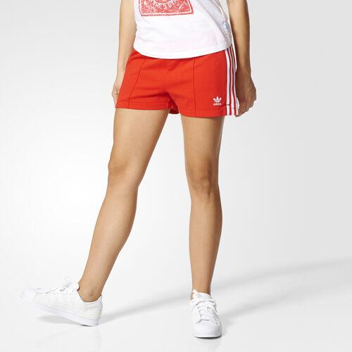 adidas - Firebird Shorts Core Red/White BJ8165