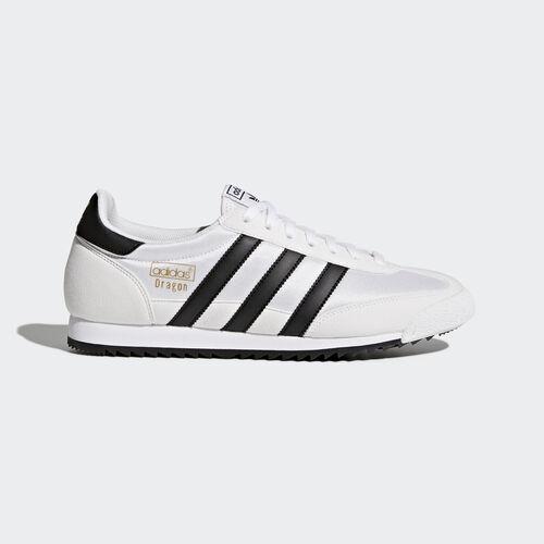 adidas - Dragon Vintage Shoes Footwear White/Core Black/Gold Metallic BB1270