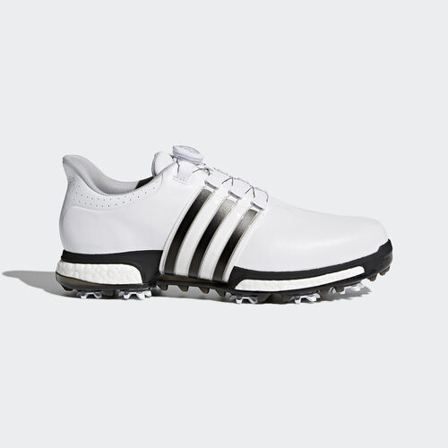 adidas - Tour 360 Boa Boost Shoes Footwear White/Core Black/Dark Silver Metallic F33409