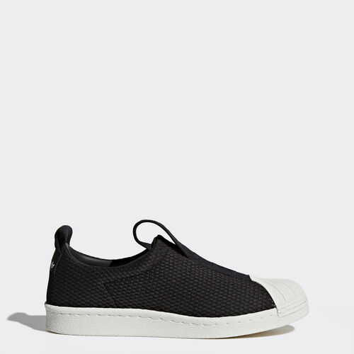 adidas - Superstar BW Slip-on Shoes Core Black/Core Black/Off White BY9137
