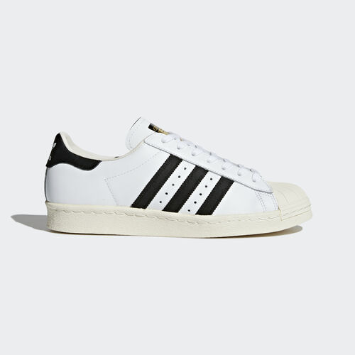 adidas - Superstar 80s Shoes White/Core Black/Chalk White G61070