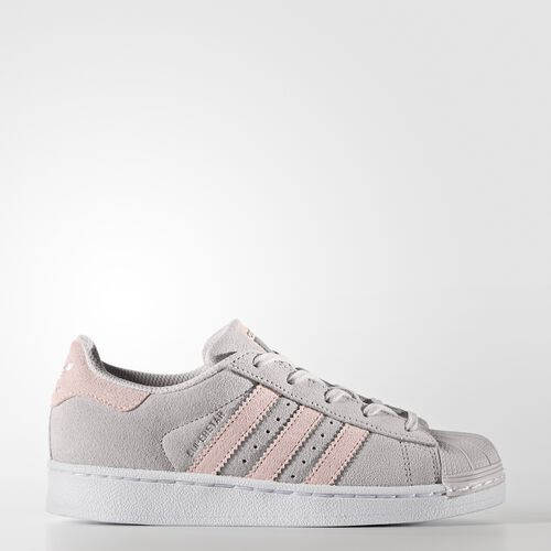 adidas - Superstar Shoes Pearl Grey /Icey Pink /Icey Pink BZ0368