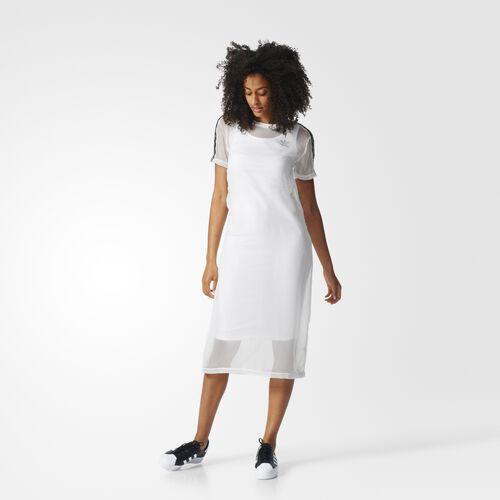 adidas - 3-Stripes Layer Dress White BJ8188