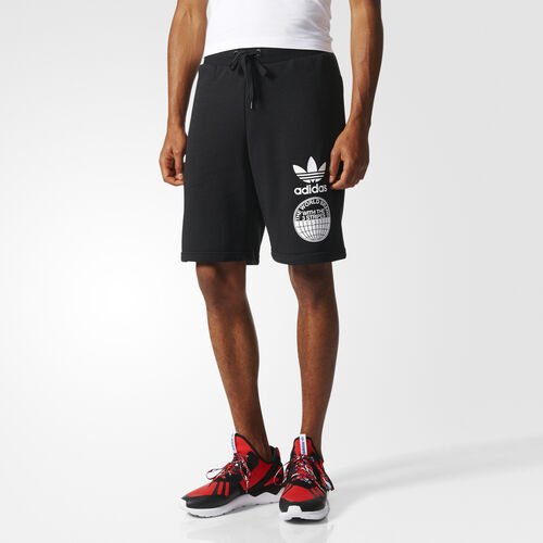 adidas - Street Graphic Shorts Black BP8939