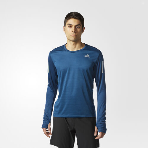 adidas - T-shirt Response Blue Night BS3265