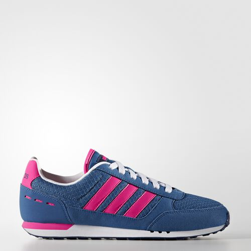 adidas - City Racer Shoes Core Blue/Shock Pink/Mystery Blue B74492