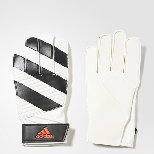 adidas - Classic Lite Goalkeeper Gloves White/Black/Solar Red AP7011