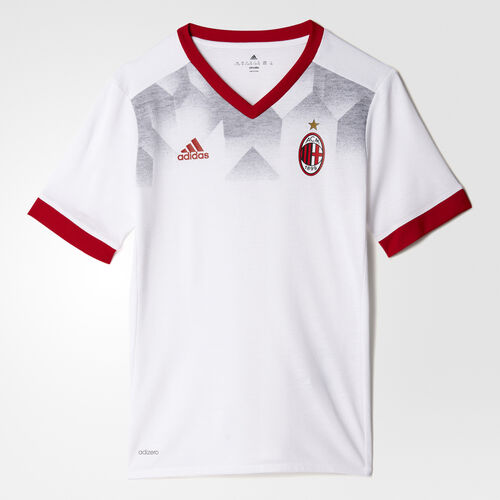 adidas - AC Milan Home Pre-Match Jersey White/Victory Red BP9147