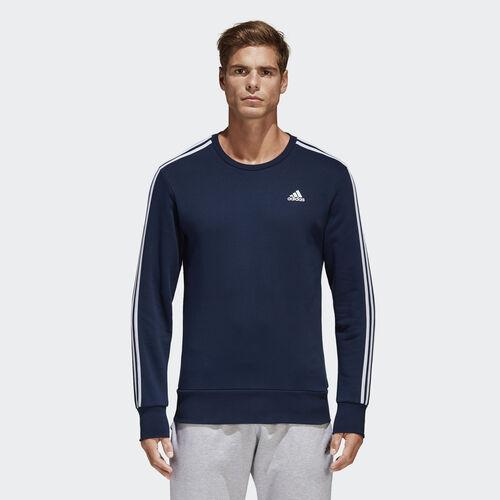 adidas - Essentials 3-Stripes Sweatshirt Collegiate Navy/White B45731