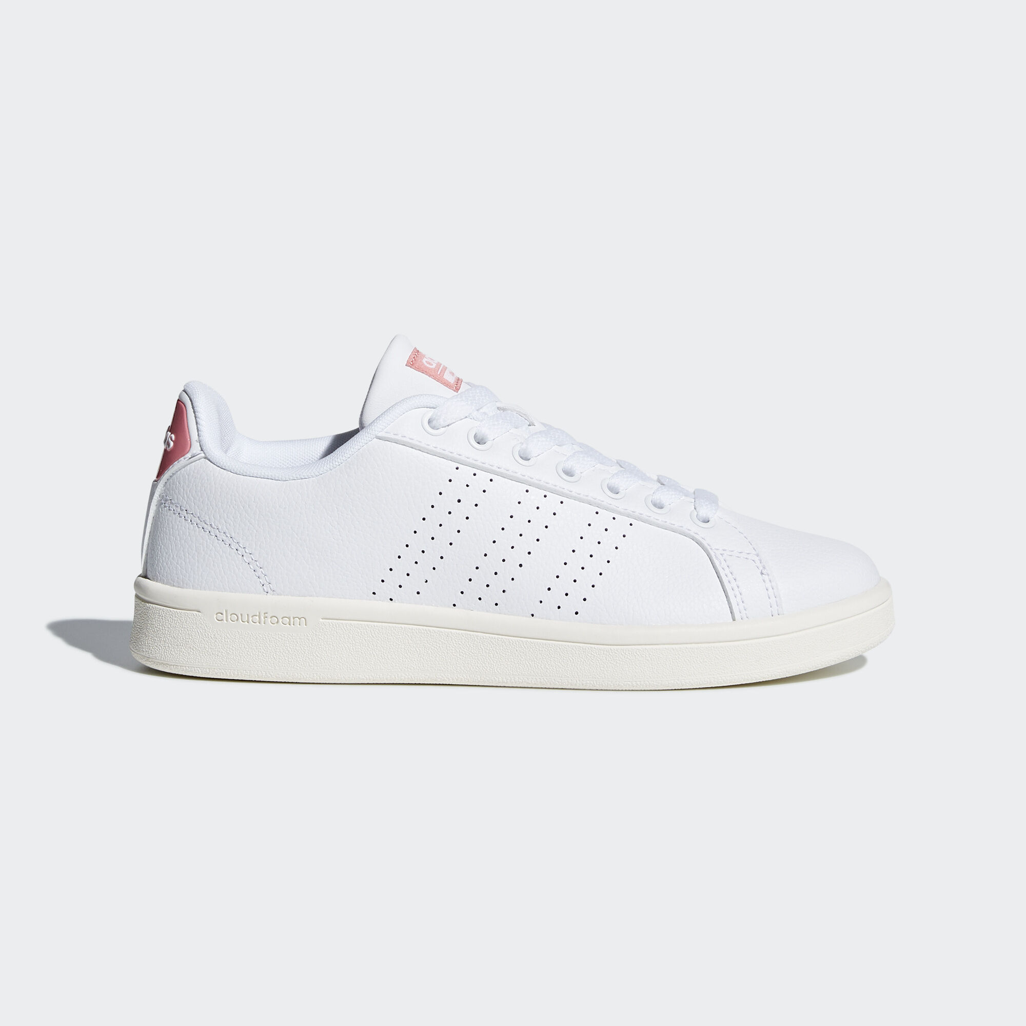 Adidas Neo White Rose Gold