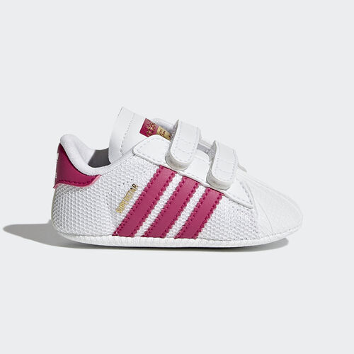 adidas - Superstar Shoes Footwear White/Bold Pink S79917