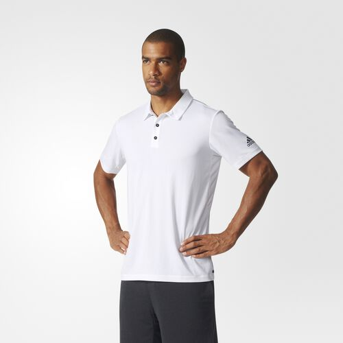 adidas - Uncontrol Climachill Polo Shirt White/Black BP7729