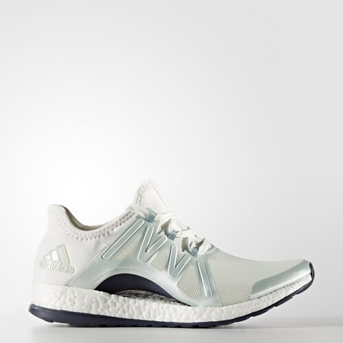 adidas - Pure Boost Xpose Shoes Linen Green/Vapour Steel/Crystal White BB1732