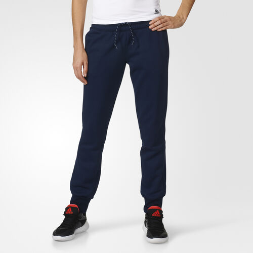 adidas - Essentials 3-Stripes Brushed Pants Collegiate Navy AY4760