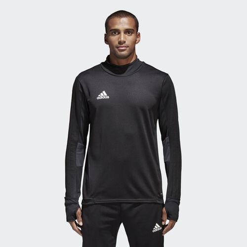 adidas - Tiro 17 Training Shirt Black/Dark Grey/White BK0292