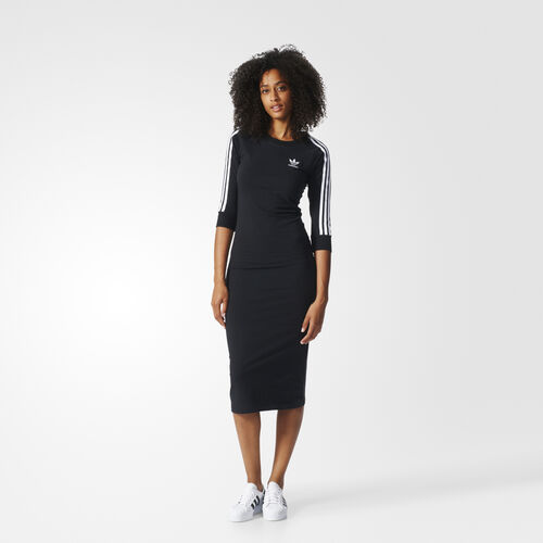 adidas - 3-Stripes Dress Black BK0016