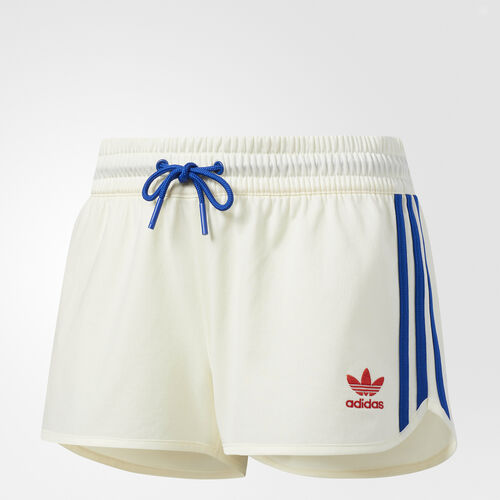adidas - Embellished Arts Shorts Cream White CV9432