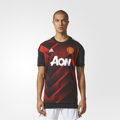 adidas - Manchester United Home Pre-Match Jersey Real Red /Black BS2608