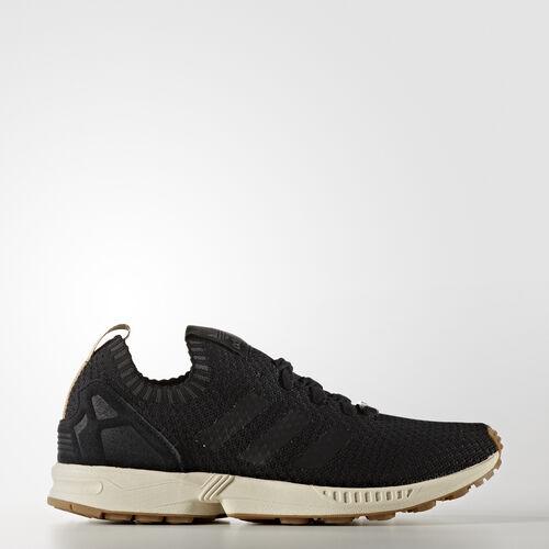 adidas - ZX Flux Primeknit Shoes Core Black/Gum BA7371