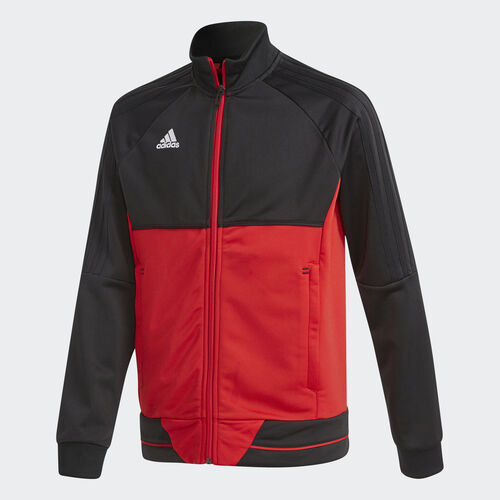 adidas - Tiro 17 Training Jacket Black/Scarlet/White BQ2609