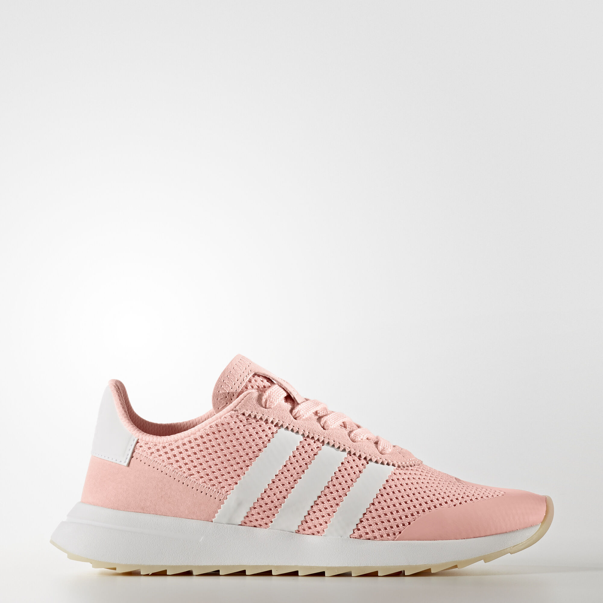 Adidas Shoes White And Pink