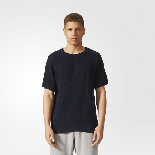 adidas - wings + horns Linear Tee Night Navy BK0238